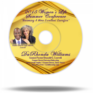 Women's Conference 2015 | Friday A.M. – Session 2 | DaRhonda Williams