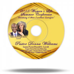 Women's Conference 2015 | Friday  P.M.  —-   Session 3  |  Pastor Donna Williams